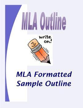 Essay in mla format example