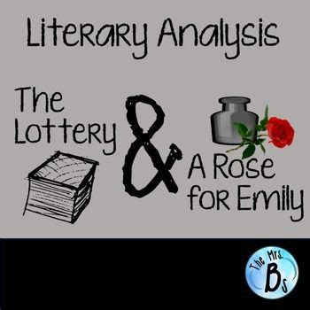 Literary analysis essay of a rose for emily 2017